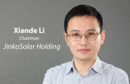 Viz-A-Viz with Xiande Li | Chairman | JinkoSolar Holding Co., Ltd.