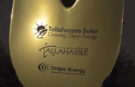 City of Tallahassee with Origis Energy breaks ground on a new 20 MW solar farm on the property of TLH