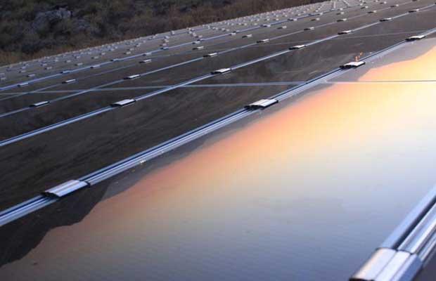 CIGS solar module