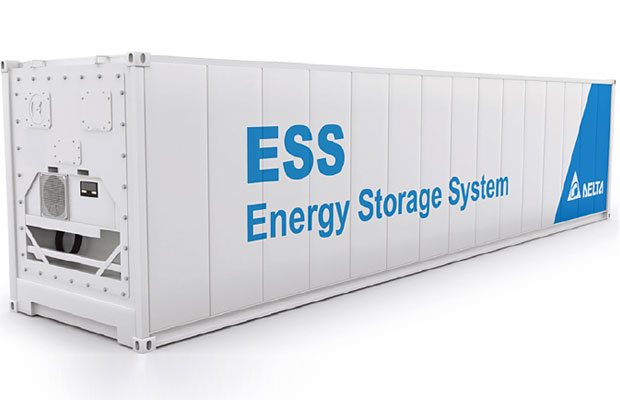 Delta Outdoor Energy Storage System Cabinet