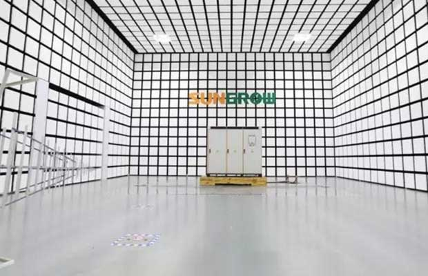 Sungrow Launches the Largest 10m Anechoic Chamber in PV & ESS Industry