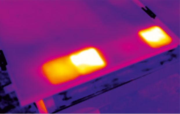 Defects on Solar Panel