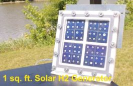 HyperSolar announces integration of a low-cost hydrogen catalyst into its solar hydrogen production device