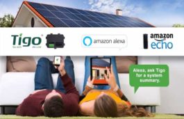 Tigo Now offers Solar PV System Owners With Voice-Controlled Energy Monitoring Through Amazon Alexa