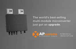APsystems introduces YC600, a dual-module, utility-interactive solar microinverter