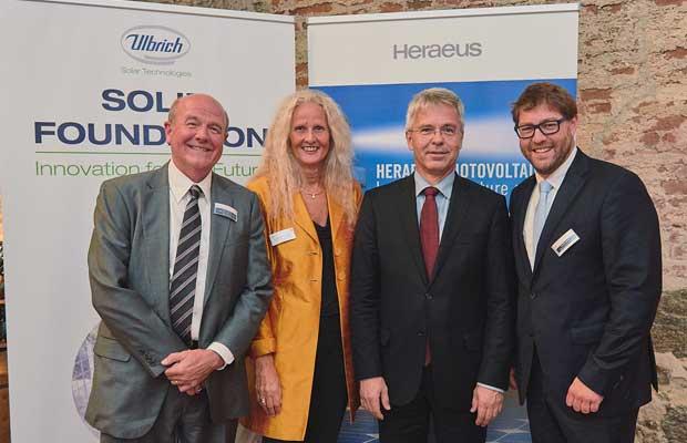 Heraeus Photovoltaics and Ulbrich