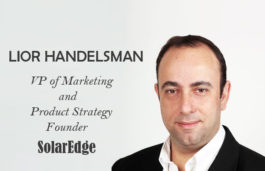 Viz-A-Viz with Lior Handelsman, VP of Marketing and Product Strategy | Founder | SolarEdge