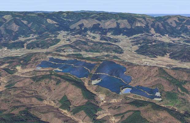 Pacifico Energy Solar Power Plant