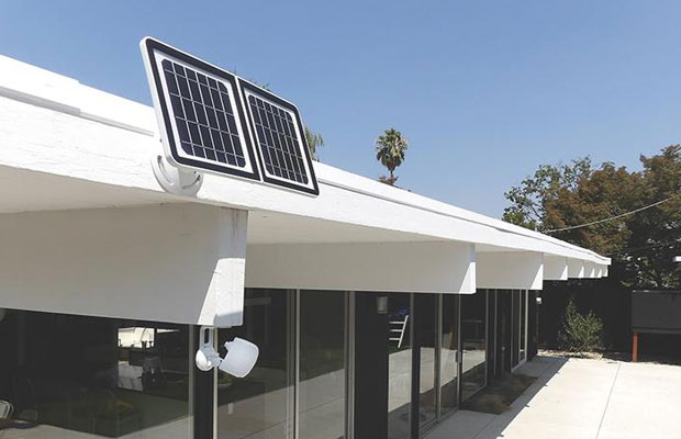 solar Powered Home Security Camera