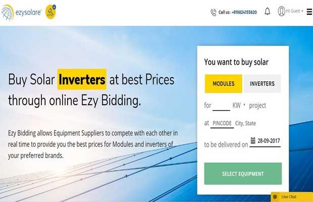 Solar Advisory Gensol Launches Solar Online Platform Ezybidding, Ezybox