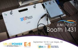 JLM Energy to launch simple energy storage quoting tool SQUAD for solar dealers at SPI