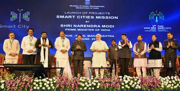 smart cities mission by modi
