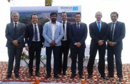 The Ambassador of France to India inaugurates Technique Solaire's solar plant in Uttarakhand