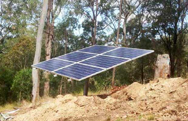 Off-Grid Solar Plants to the Grid