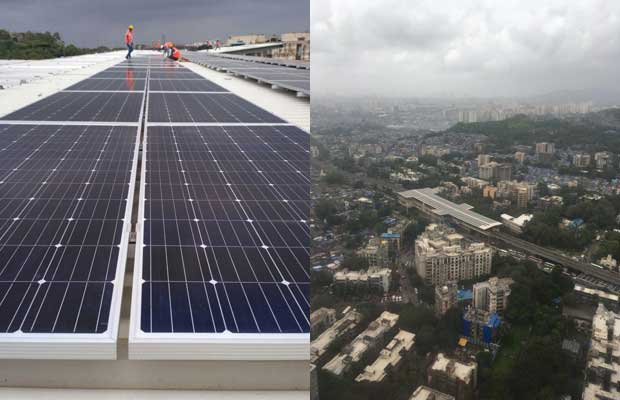 Rooftop Solar project for Mumbai Metro