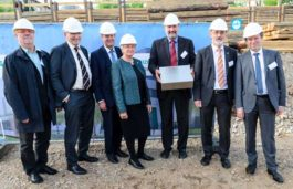 Center for High-Efficiency Solar Cells – Cornerstone Laid For a New Laboratory Building at Fraunhofer ISE