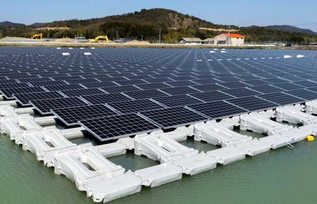 India's Largest Floating Solar Plant Gets Commissioned