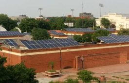 CleanMax Solar Installs Solar Power System at Dilli Haat in Pitampura