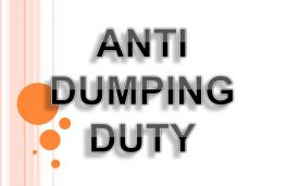 DGTR's Third Anti Dumping Investigation. Too Little, Too Late?