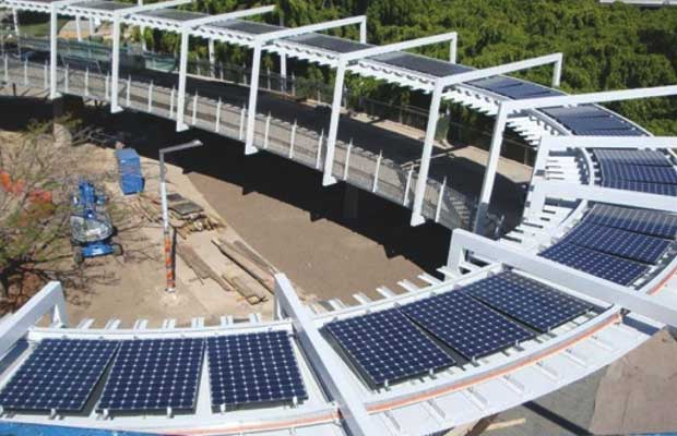 Delhi Metro To Set Up Solar Panels On Pedestrian Bridges