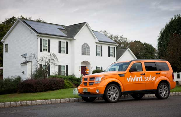 Vivint Solar Storage PPA California