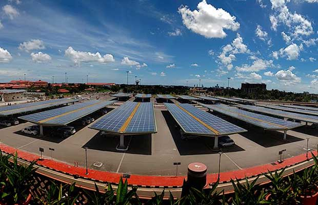 Solar Powered Airport Cochin International Airport S