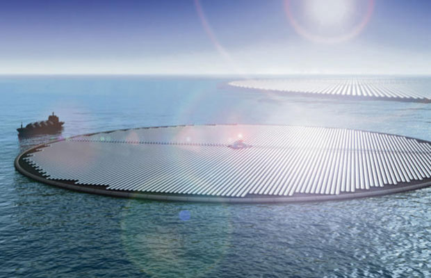 Africa's First Commercial Floating Solar Farm