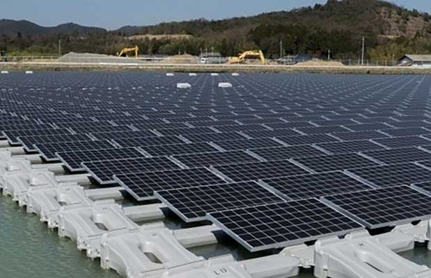BHEL 100 MWac Floating Solar
