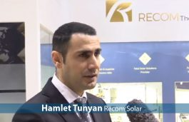 Hamlet Tunyan, Recom Solar