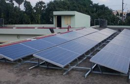 Mechanical Department of NIT-K Dedicates Rooftop for Solar Research