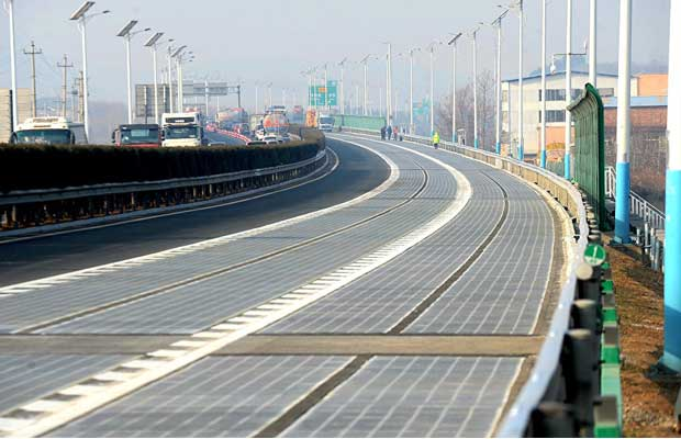 China Successfully Tests Country S First Photovoltaic Highway