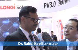 Dr. Rahul Kapil, Longi Solar
