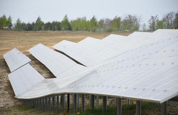 solar plant in Ukraine