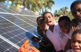 Solar Power Transforming Lives at Fiji School
