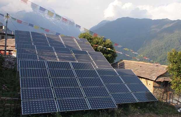 solar power in nepal