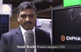Sunil Rathi, Waaree energies LTD.