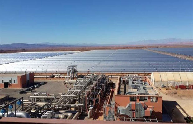 two solar power plants