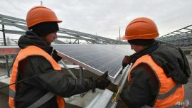 Green Energy: Ukraine to Launch Its First Solar Power Plant at Chernobyl