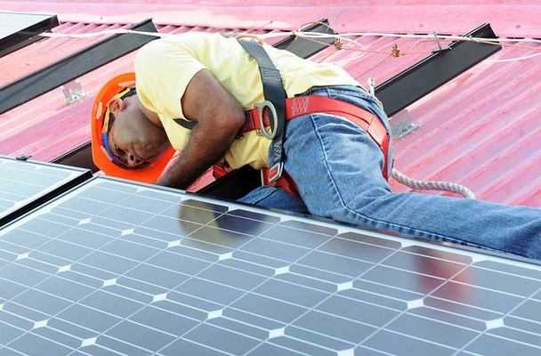 imported solar panel