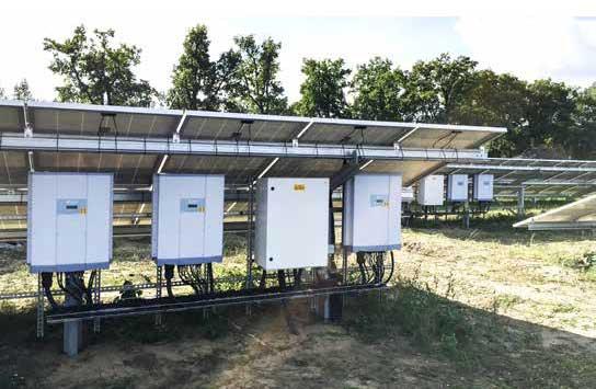 solar farm inverter