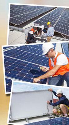 solar power generation plants