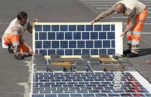 china solar-road