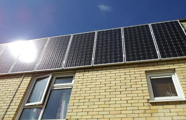 Solar Panel Wall >> Wall Mount Solar Panels How Much Are They Feasible For Indian Climate