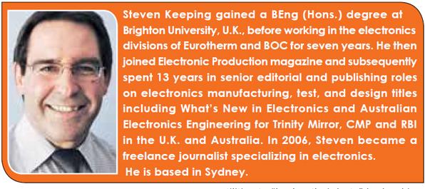 Steven Keeping gained a BEng (Hons.) degree at Brighton University, U.K