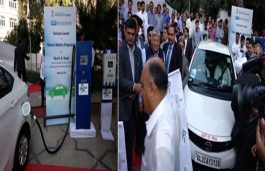 Exicom Installs AC & DC EV Charging Station at Power Ministry Premises