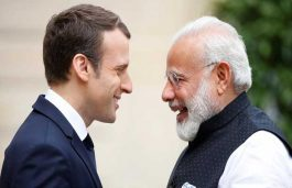 Modi, Macron Inaugurate Solar Power Plant in UP
