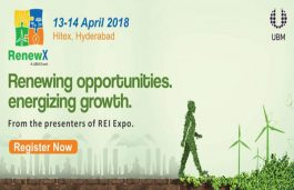 150 Exhibitors to Showcase at the Third Edition of RenewX in Hyderabad
