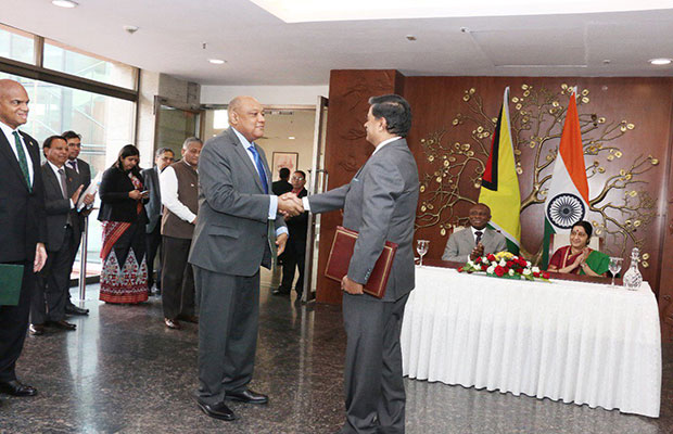 India Inks Pact with Guyana for New & Renewable Energy Technologies
