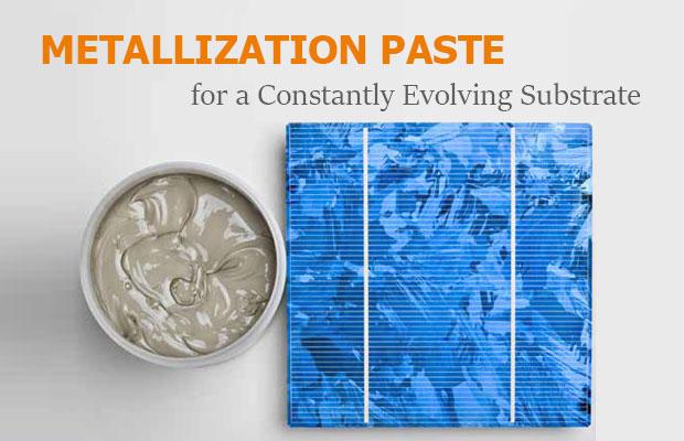Metallization Paste