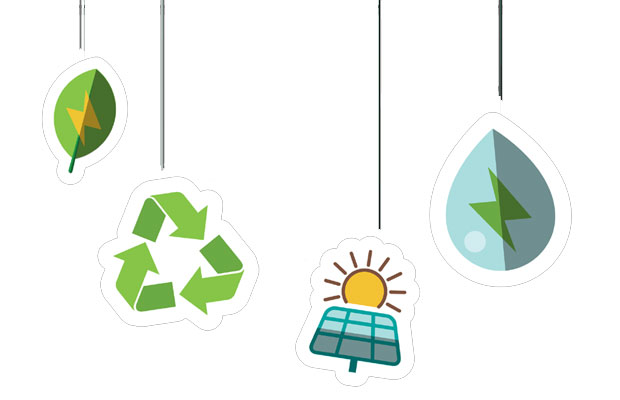 solar energy is green